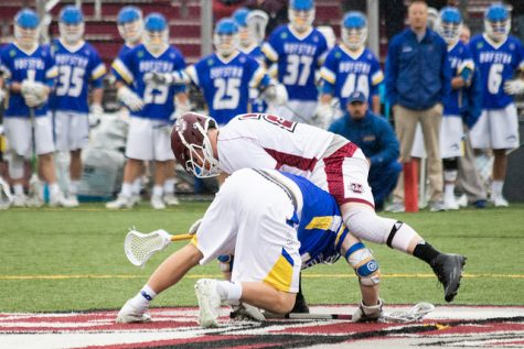 Dan Muller makes an impact for UMass men's lacrosse after missing last season