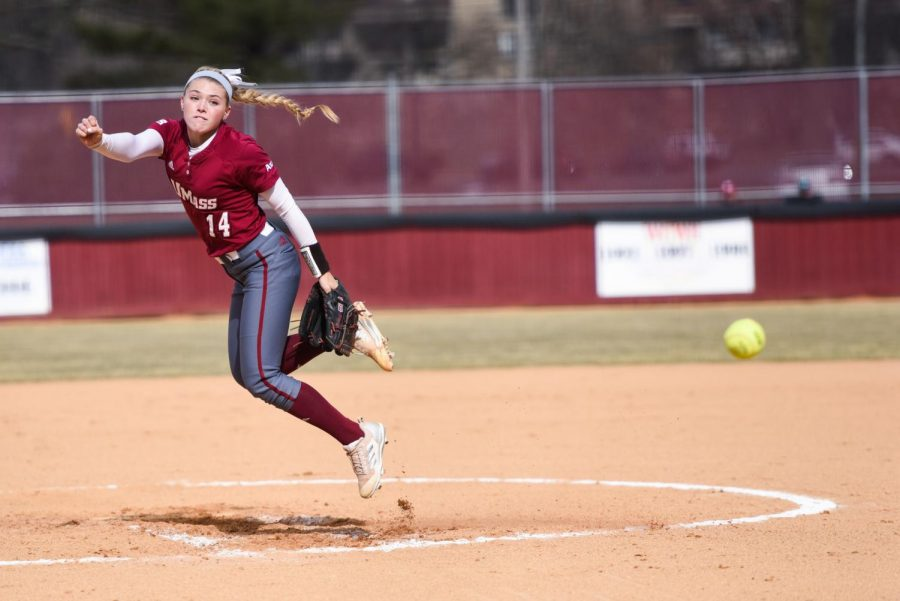 Kiara Oliver named A-10 Pitcher of the Week, continues stellar rookie campaign