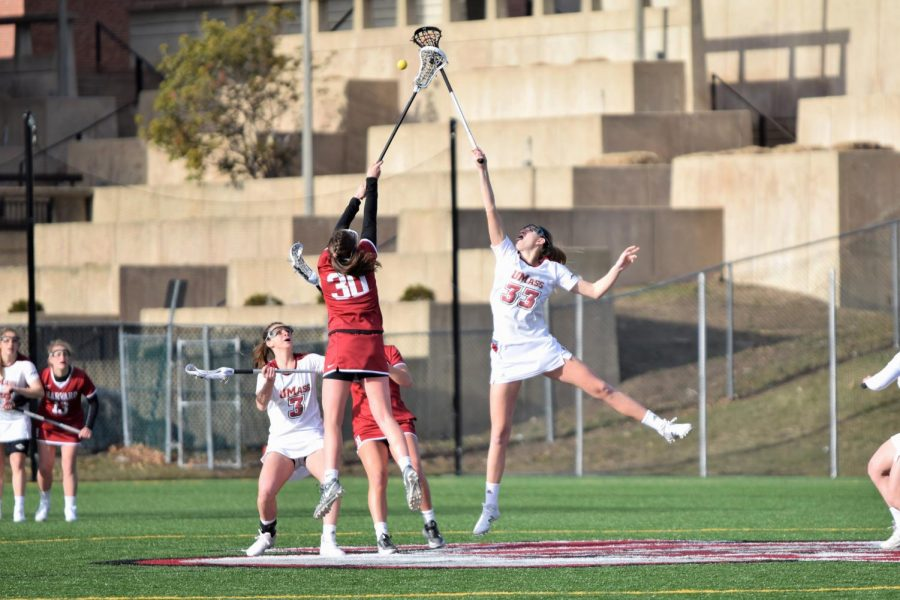 Draw controls translate into a victory for the UMass women's lacrosse team