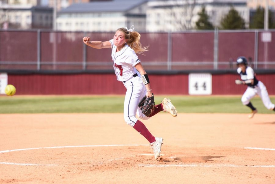 UMass softball doubles up Fordham, moves to brink of A-10 regular season title