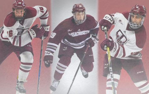Hildenbrand, Ferraro and Makar newest UMass hockey captains