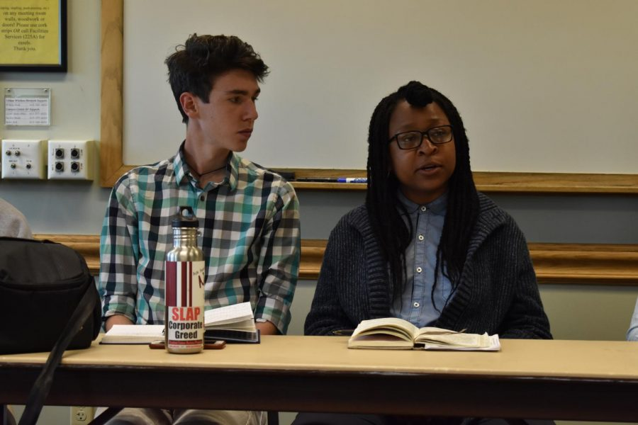 SGA members outline goals for upcoming year in town hall