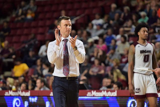UMass men's basketball coach Matt McCall's contract extended