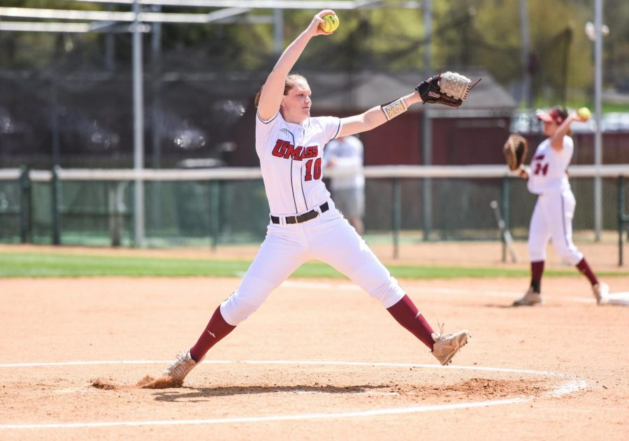 UMass softball blows out Saint Louis to open A-10 tournament