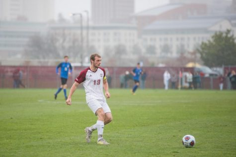 Offensive struggles sink UMass men's soccer in season opener