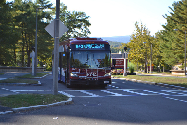 UMass Transit Services cuts bus route runs due to shortage in trained drivers