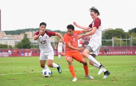 Davis Smith continues to adapt to new role for UMass men's soccer