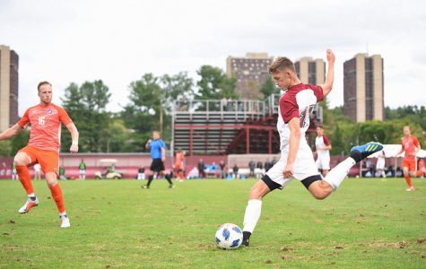 UMass men's soccer battles to draw with Clemson