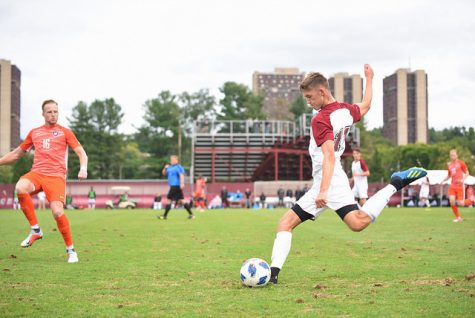 UMass men's soccer aims for third straight NCAA bid