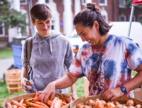 UMass Farmers' Market is open for business