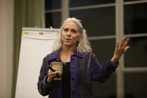 Educator and activist Robyn Ochs visits UMass on Bisexual Visibility Day