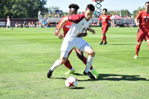 UMass men's soccer defense can't hold up against Albany