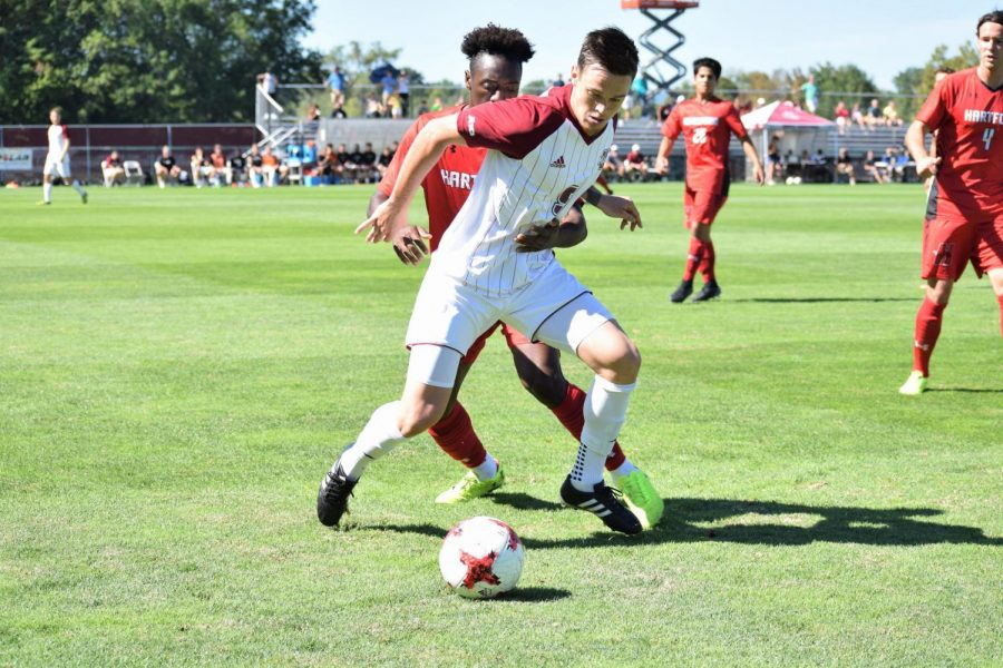 Two late goals sink UMass men's soccer at Boston University