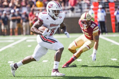 UMass football blasted by Boston College in 55-21 loss