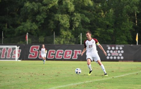 Early season experimentation for UMass men's soccer