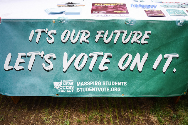 Student coalition works to 'get out the vote' before November election