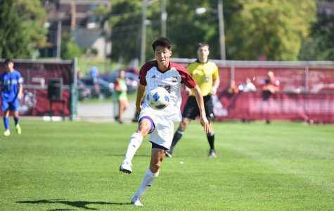 Yosuke Hanya shines in big win over Central Connecticut