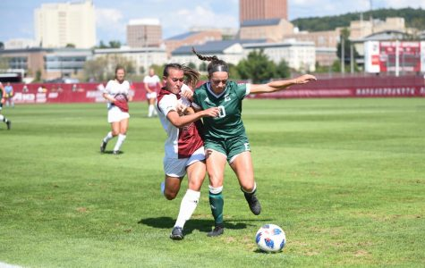 Jenny Hipp dazzles offensively in UMass' win over Eastern Michigan