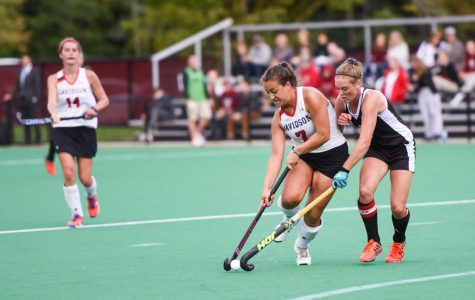 UMass field hockey dominates Davidson with aggressive backfield play