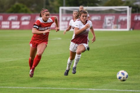 UMass field hockey searches for first win away from home with games against Davidson and UMass Lowell