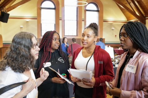 First-generation college students welcomed at Old Chapel