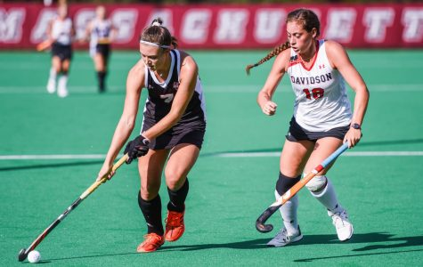UMass field hockey dominates in 3-0 shutout over Davidson