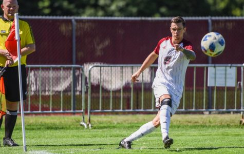 UMass men's soccer wraps up grueling stretch with explosive win