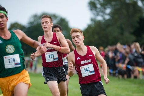 Men's cross country increasing their pace at second season invitational