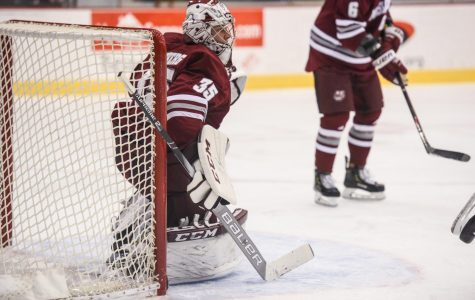 Ames: UMass hockey's goalie situation continues to intrigue