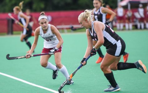 UMass field hockey scores five straight to shock Northeastern