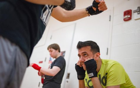 The man behind UMass boxing: How Rocky Snow's life changed after using the sport as an outlet