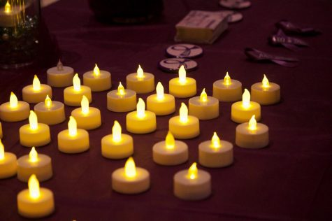 Alpha Chi Omega holds luminary ceremony to discuss domestic violence
