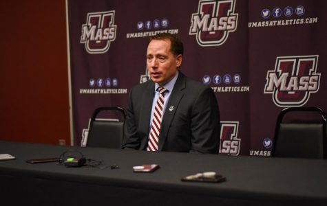 Q&A with Greg Carvel at Hockey East Media Day