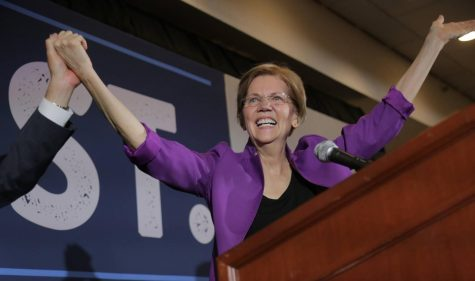 Sen. Elizabeth Warren says she will take a 'hard look' at running for president in 2020