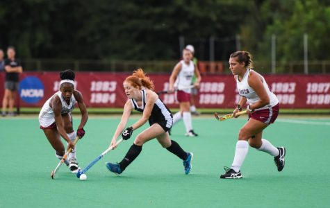 Lineup tweaks help spark big UMass field hockey win over Saint Francis