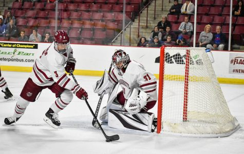 Matt Murray's stellar night helps UMass hockey over Merrimack