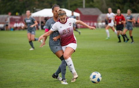 UMass women's soccer win streak finally comes to an end at Fordham
