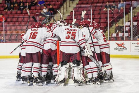 Clean breakouts bringing early success to UMass hockey