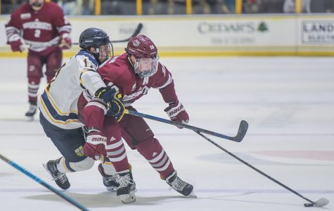 Comeback kids steal win from Merrimack, sweep series