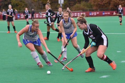 UMass field hockey inaugurates new home field with 4-3 win over UMass Lowell