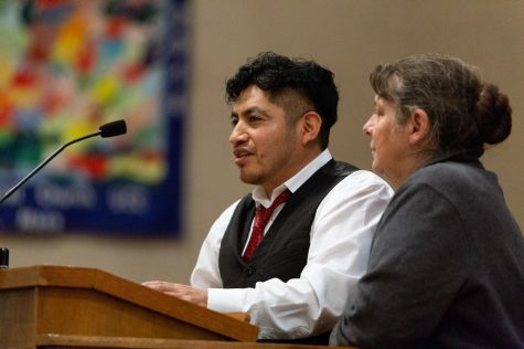 First Congregational Church of Amherst commemorates one year with undocumented immigrant family