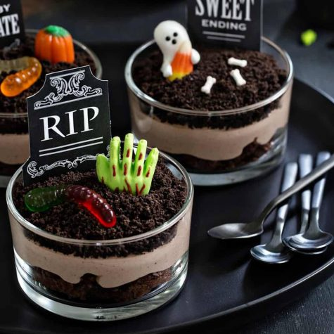 Spooky treats for a cozy Halloween night in