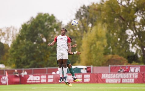 UMass wins first conference game in 2-0 victory over George Mason