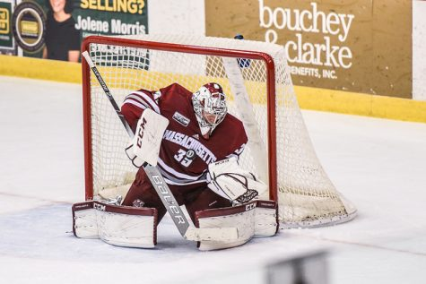 Michael Pereira lifts UMass hockey to convincing win over PC