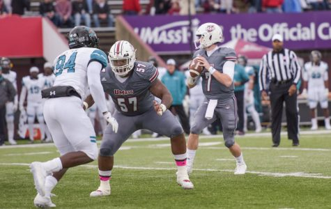 Big plays, rushing game the difference as UMass football falls to Coastal Carolina