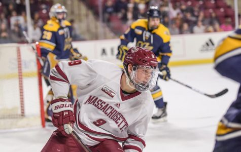 UMass hockey travels to New Hampshire this upcoming weekend