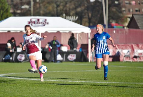 UMass ties Hartford on Ruggles birthday goal