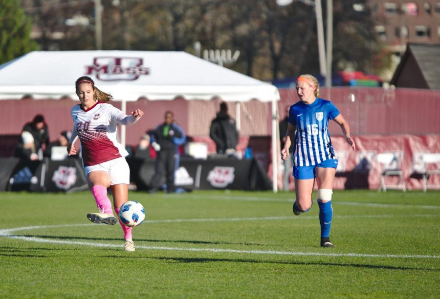 UMass women's soccer falls 3-0 to Saint Louis