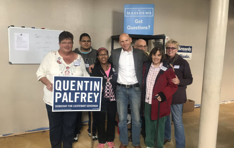 Lt. Gov. nominee Palfrey looking for large student turn out in upcoming election