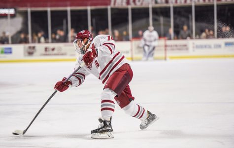 Makar's four points lead UMass hockey to season-opening win